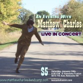 An Evening with Matthew Charles presented by Kenosha Fusion