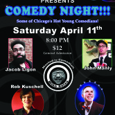 "KPAA Presents ""Comedy Night at Fusion"""