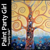 "Kenosha Literacy Council Paint Party ""Swirly Oak"" at Fusion!"