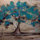 Teal Tree Sail Paint and Sip at Fusion
