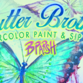 Flutter Brothers Watercolor Paint & Sip